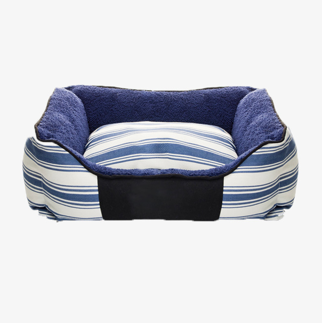 a9abeb4769 Blue And White Stripes Soft Cat Nest