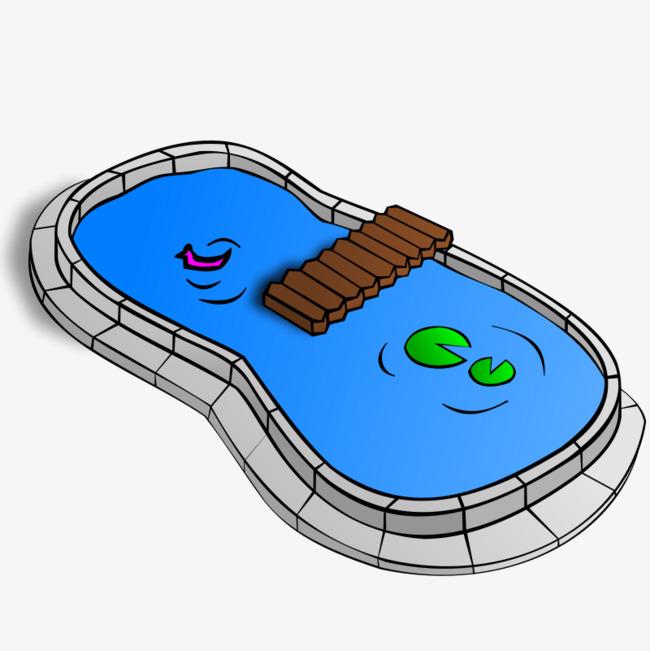 Blue cartoon piscina cartoon blue cartoon piscina imagen - Clipart piscine ...