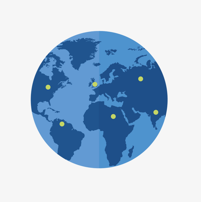 Blue Circular Map, Blue Vector, Map Vector, Blue PNG and Vector