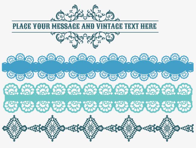 Imagem Vetorial Gratis Mapa Pinos Illustrator Titular: A Linha Divisória De Vector De Flor Azul A Linha A