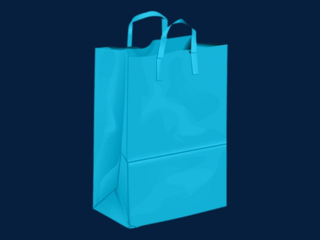 Blue Gift Bags Clipart Bag Gifts Png Image And