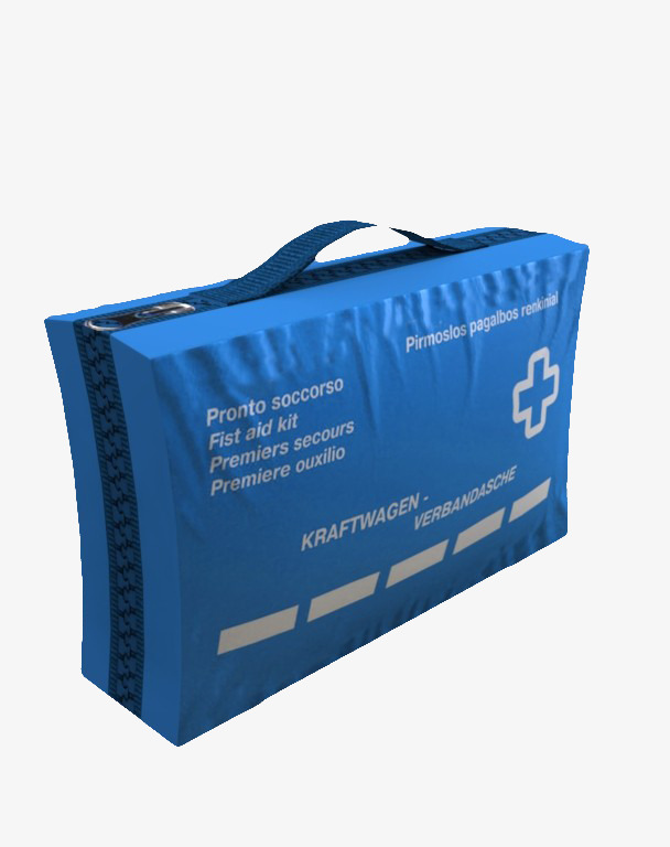 Blue Military First-aid Kit, Military Clipart, Military First Aid