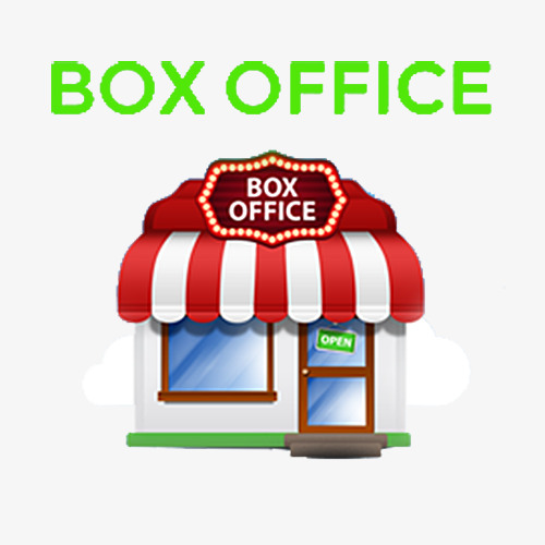 u5361 u901a u7968 u623f u5b50 du box office box bureau box office image png pour