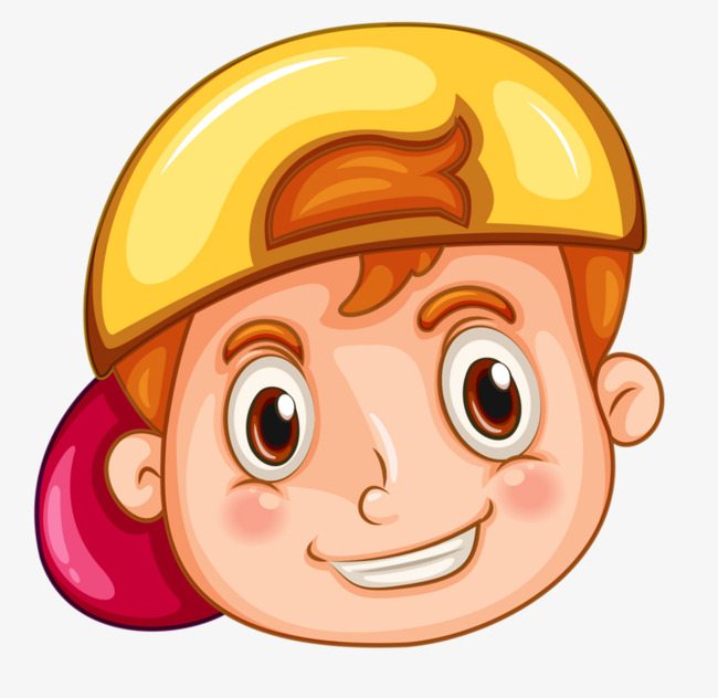 Boy Avatar: Boy Avatar, Boy Clipart, Yellow Hat, Boy PNG Image And
