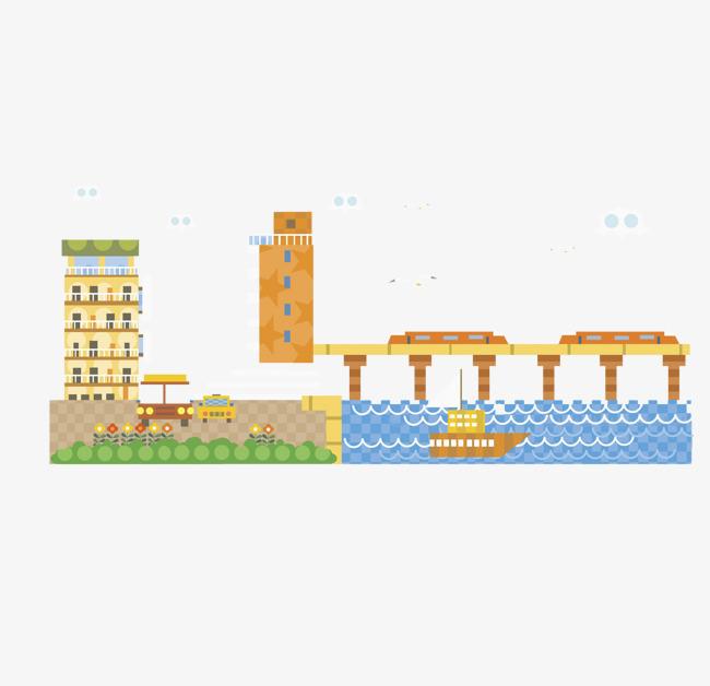La Construcción De Puentes La Construcción De Puentes Dibujo A Mano ...
