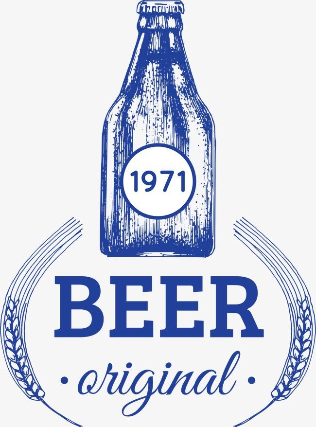 Identikit Di Un Bicchiere Di Birra Inglese Etichetta Fan Di Ghiaccio