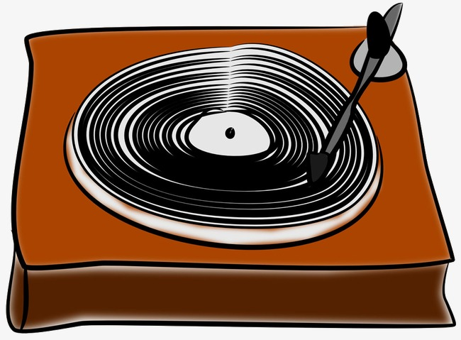 Image result for cartoon record player
