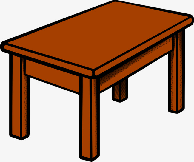 brown wooden table table wood brown desk png image and clipart
