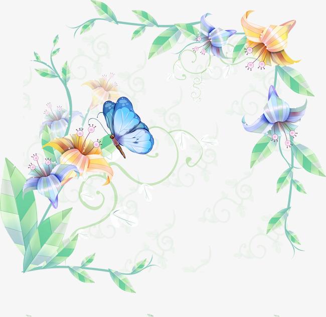 клипарты для наборных картин бабочки на ветке