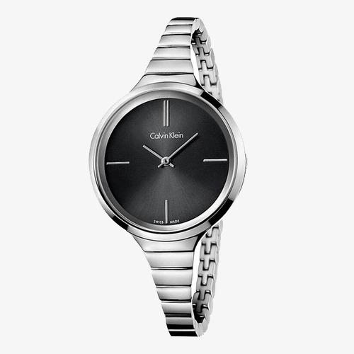b551c85122e CalvinKlein Calvin Klein original disco LIVELY série prata Preto pulseira  de aço relógio de quartzo Grátis PNG e Clipart