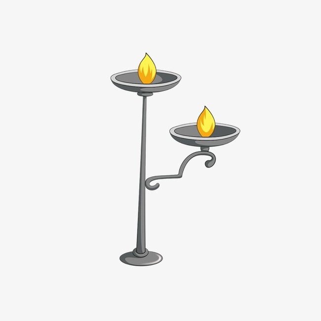 Candle Holder Lamp Stand Metal Decoration PNG Image And Clipart
