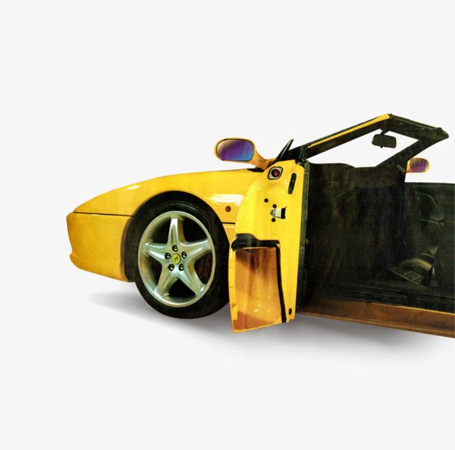 Xe Ô Tô Màu Vàng Chiếc Xe Kỳ Tích Hình Ảnh Và Hình Ảnh Png