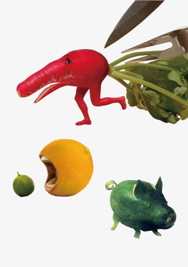 Carrot Orange Melon, Vegetables, Fruit, Creative Design PNG