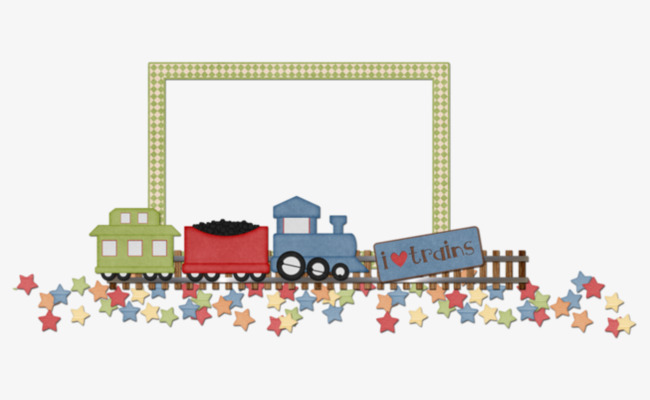 Cars Decorative Borders, Cars Clipart, Frame, Green PNG Image and ...