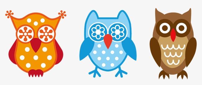 Kartun Haiwan Owl Gambar Kartun Kartun Burung Hantu Png Dan Vektor