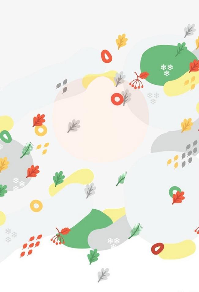 Fondo De Dibujos Animados Cartoon Elementos De Fondo Flores Imagen