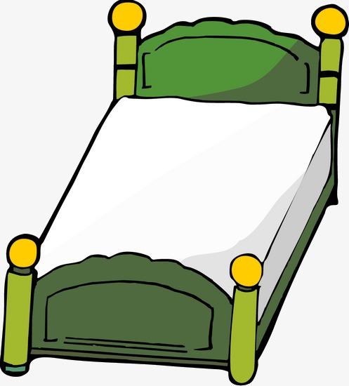 Cartoon Bett Cartoon Bett Grune Png Und Psd Datei Zum Kostenlosen