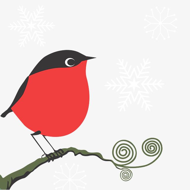 Debout Sur Les Branches De Dessin D Oiseaux Les Branches Rouge Petit