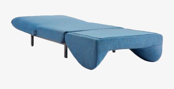 Chaise Canapé Lit Dessin Inclinable De Est Bleu Le Longue E92DHYIW