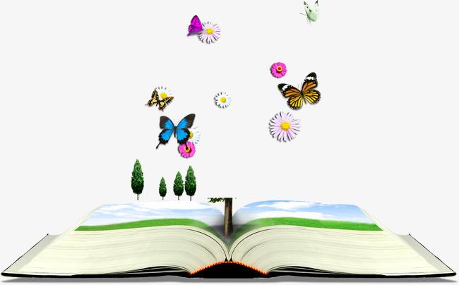 Libros De Dibujos Animados Mariposa La Protección Del Medio Ambiente