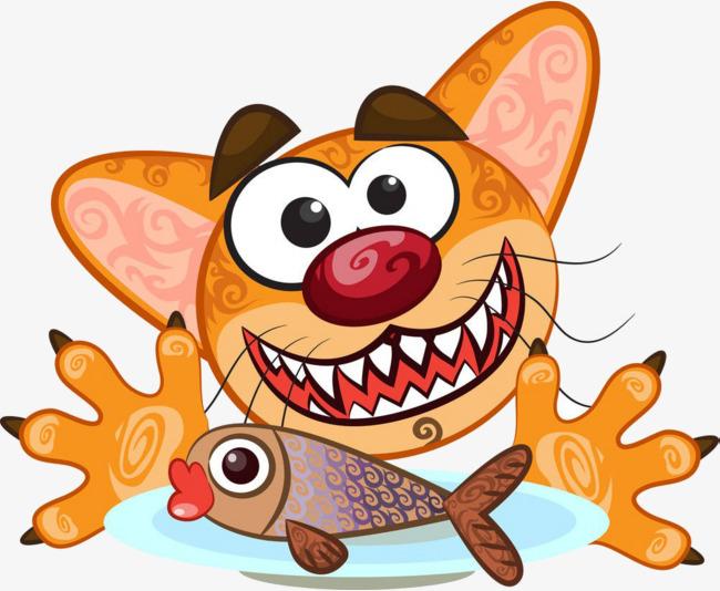 """Résultat de recherche d'images pour """"poisson chat dessin"""""""