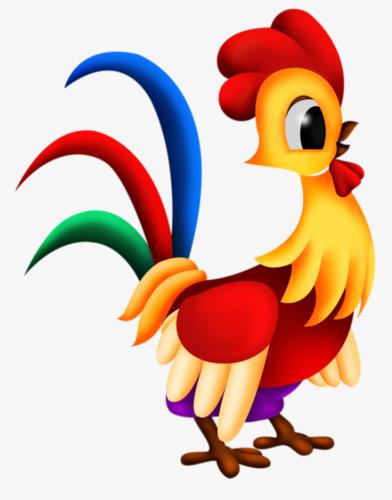 Kartun Ayam Klip Kartun Cock Tahun Dari Ayam Jantan Imej Png Dan