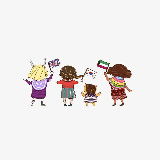 Anak Anak Kartun Kanak Kanak Pembukaan Animasi Imej Png Dan Clipart