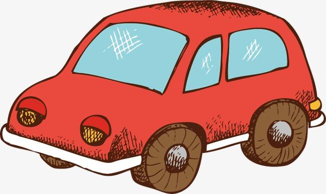 Dibujos Animados De Los Juguetes De Los Ninos Creativos Auto