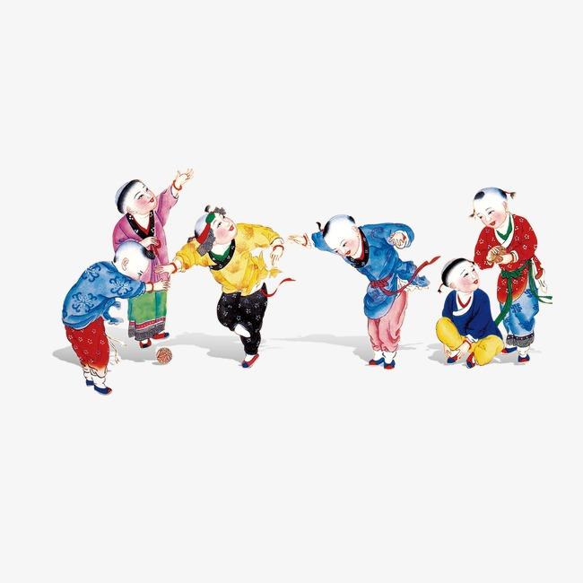 Cartoon Juego De Ninos Nino Creative Ano Nuevo El Ano Nuevo Chino