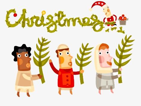 Resultado de imaxes para festival navidad dibujo