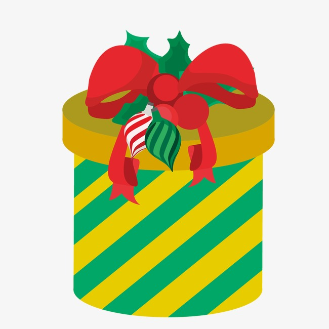 Dibujos Animados De Navidad Caja De Regalo Christmas Gift Box Cajas