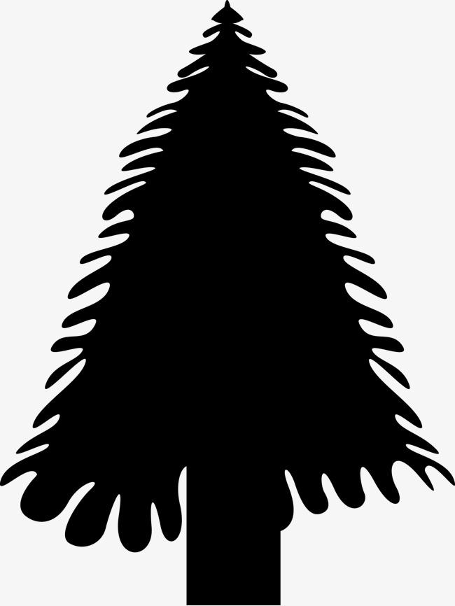 Dibujos Animados Material De Pino De Navidad Navidad Sketch Pino
