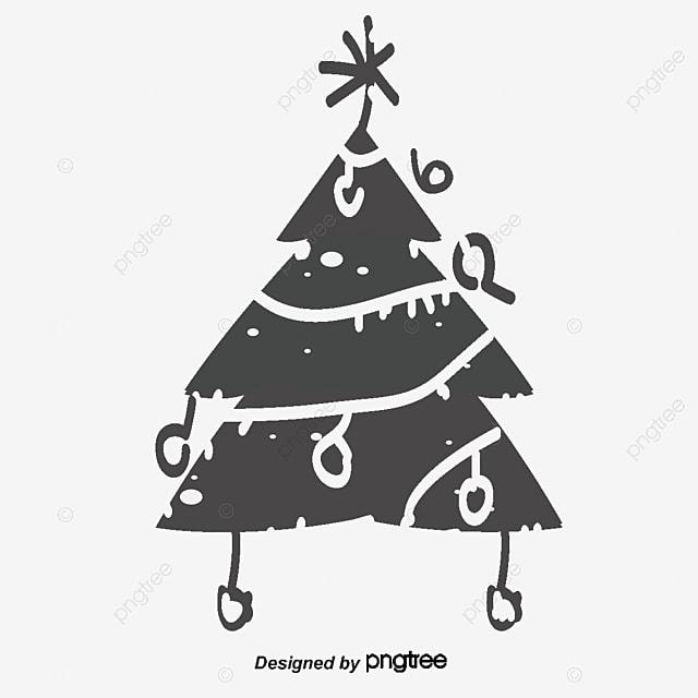 Cartoon Christmas Tree Cartoon Vector Christmas Vector Tree