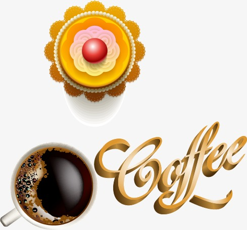 Cartoon Kaffee Und Kuchen Cartoon Kaffee Und Kuchen Lebensmittel
