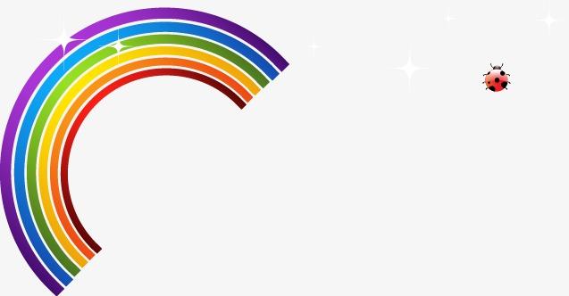 Arco De Imagen Png Png Dibujo: Dibujos Animados De Colores Del Arco Iris Cartoon Colorido