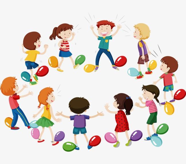 Dessin de mat riau un groupe d enfants le ballonnet des personnages de dessins anim s png et - Dessin groupe d enfants ...