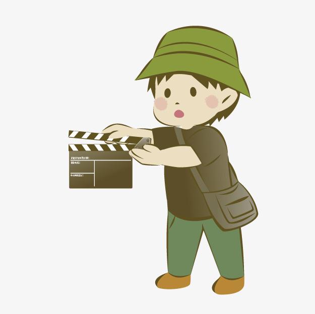 Kartun Kru Kartun Krew Kamera Kru Film Menembak Tips Imej Png Dan