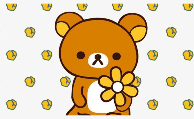 cartoon cute bear background cute clipart background clipart