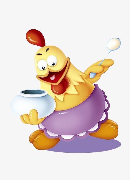Kartun Ayam Lucu Per A Png Dan Seni Klip