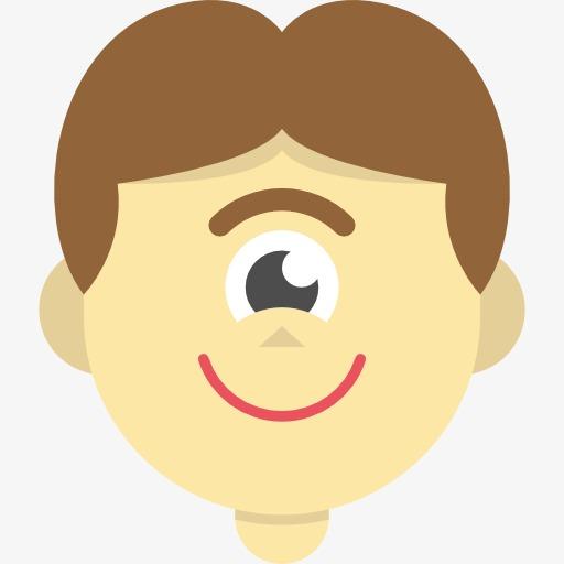 Hombre De Ojos De Dibujos Animados Hombre De Ojos De Dibujos