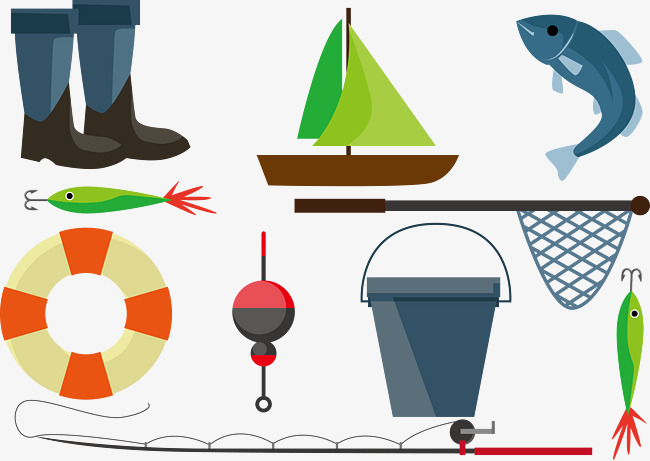 Pesca De Dibujos Animados Yongquan Pescado La Pesca PNG Y
