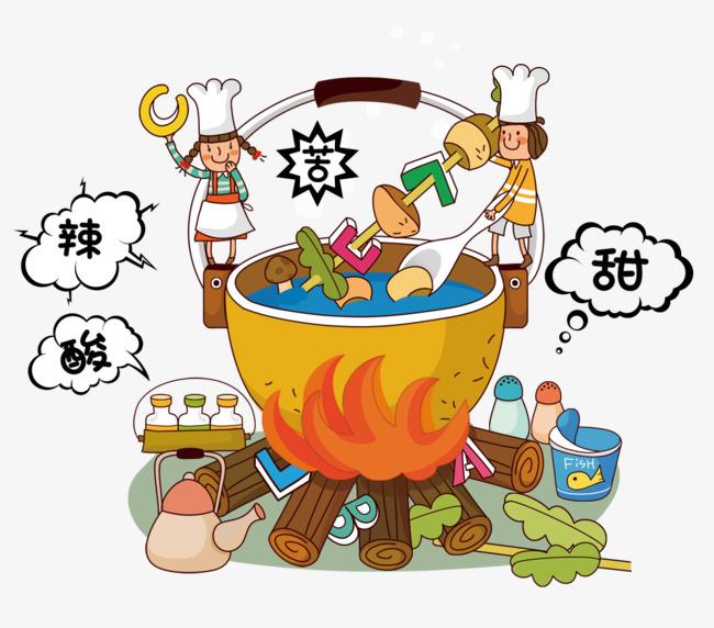 Le dessin de la nourriture gourmet le dessin de la nourriture marmite fichier png et psd pour le - Dessin marmite ...