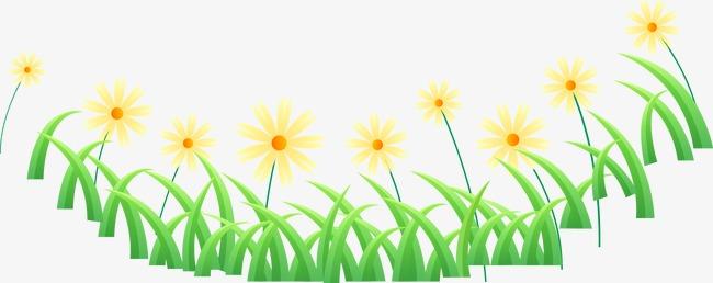 Cartoon Fresh Spring Flowers Cartoon Vector Spring Vector Cartoon