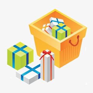 Cartoon Geschenk Paket Cartoon Geschenke Paket Png Bild Und Clipart