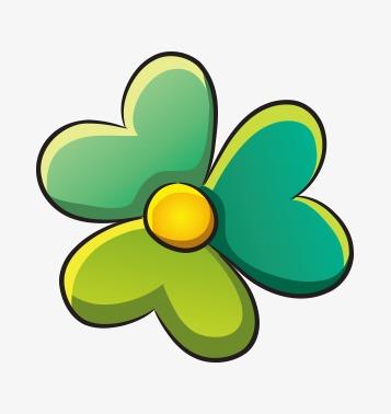 Dibujos De Flores Verdes Cartoon Flores Verde Png Y Vector Para
