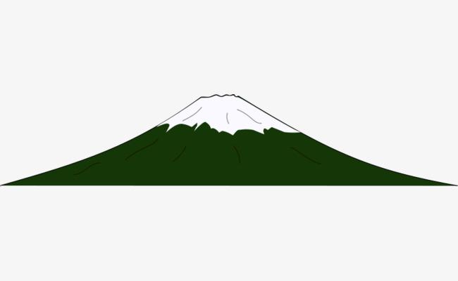 Hijau Kartun Gunung Kecil Timbunan Kartun Hijau Hijau Kartun Imej
