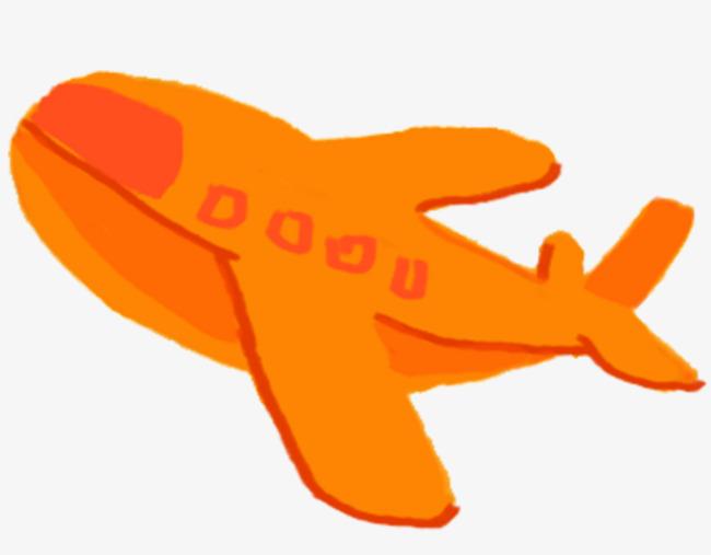 Dibujado A Mano De Dibujos Animados De Aviones Plano De Dibujos