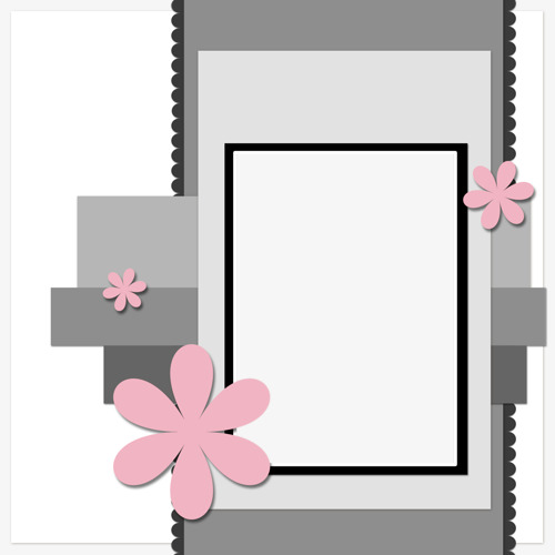 Cartoon Hit The Color Black And Gray Frames, Cartoon Clipart, Color ...