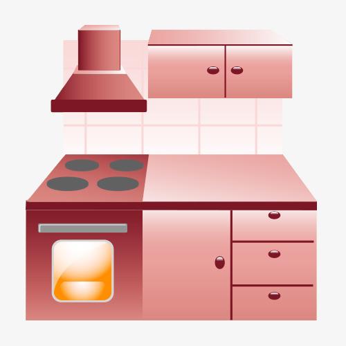 Dibujos Animados De Menaje De Cocina Menaje De Cocina Muebles ...