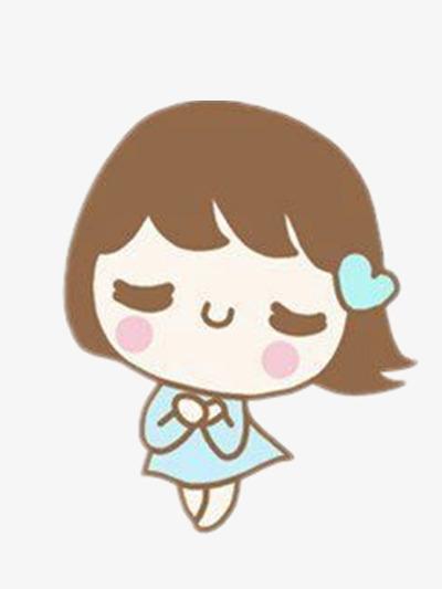 Dessin De Petite Fille Personnage Couleur Coeur Image Png Pour Le
